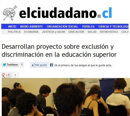 Prensa destaca primera sesión seminario MISEAL/FLACSO-Chile