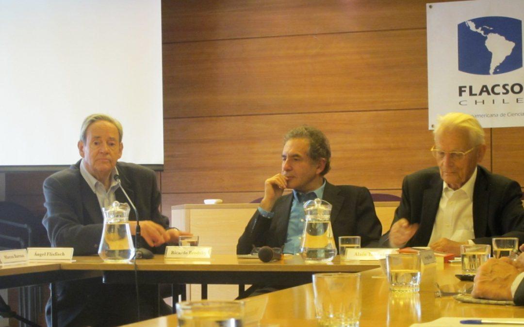 Conversatorio con Alain Touraine en FLACSO-Chile