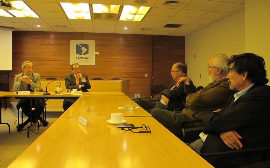 Conversatorio con Fernando Carrillo en FLACSO-Chile