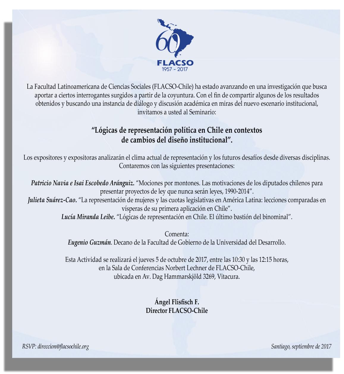 invitación seminario 5 octubre