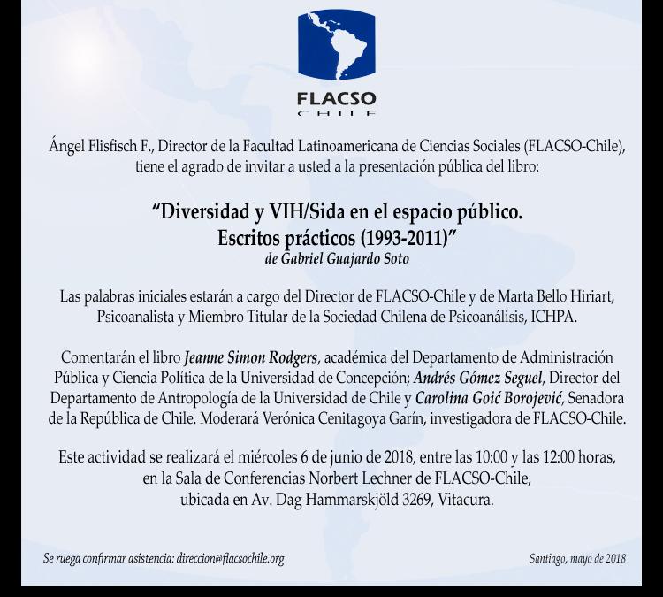 """Presentación Libro """"Diversidad y VIH/Sida en el espacio público. Escritos prácticos (1993-2011)"""""""