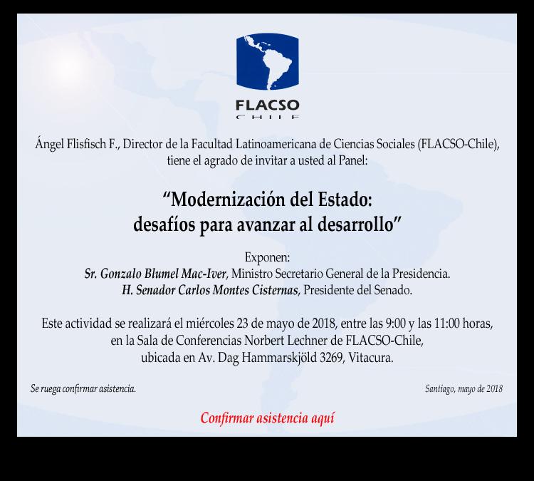 """Panel """"Modernización del Estado: desafíos para avanzar al desarrollo"""""""