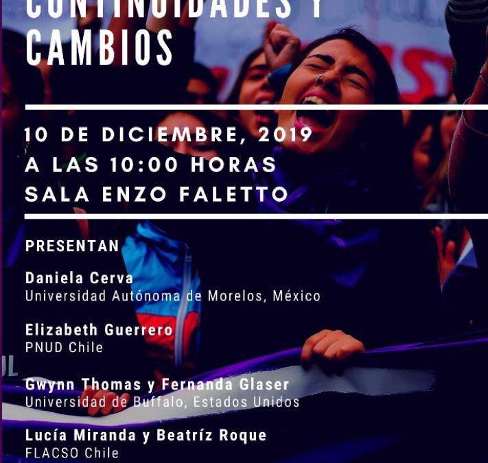 """Seminario """"Movimiento Feminista: Continuidades y Cambios"""""""