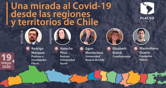 """Conversatorio """"Una mirada al COVID-19 desde las Regiones y territorios de Chile"""""""
