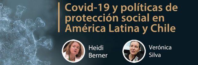 """Charla """"Covid-19 y políticas de protección social en América Latina y Chile"""""""