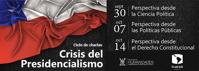 """Ciclo de Charlas """"Crisis del Presidencialismo"""""""