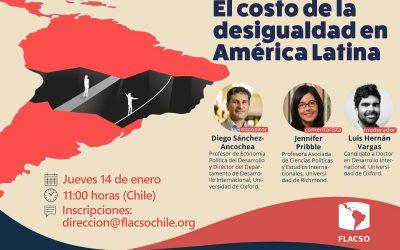 """Charla """"El costo de la desigualdad en América Latina"""""""