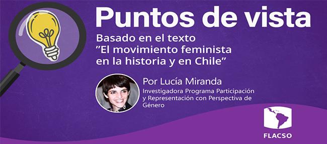 El movimiento feminista en la historia y en Chile